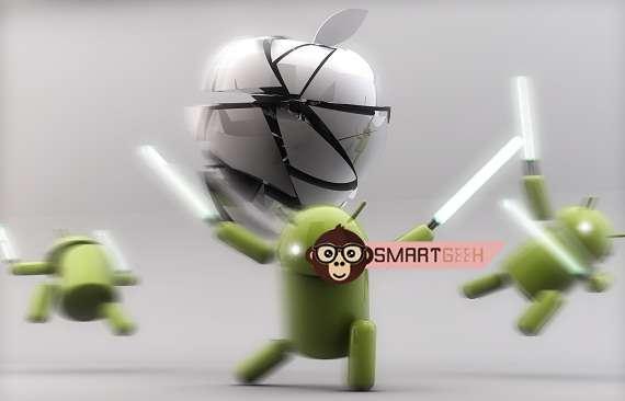 Android beats Ios