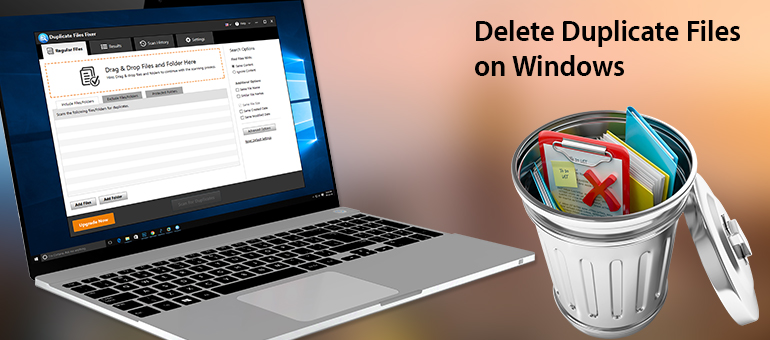 Delete-Duplicate Files-on-Windows
