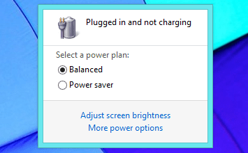 not charging