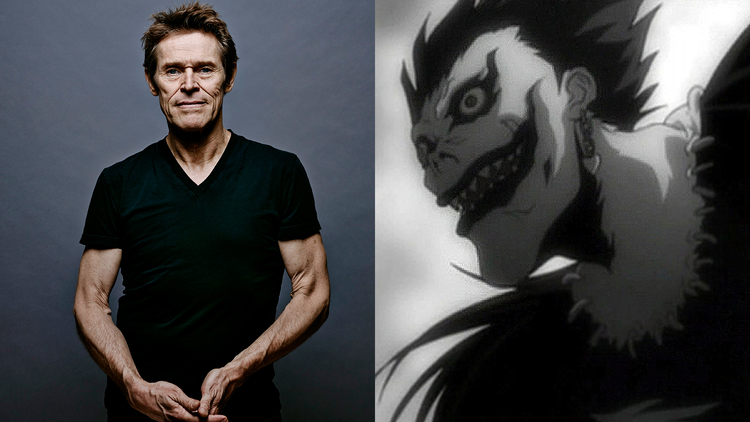 The Voice of Shinigami Ryuk in Death Note Will Be Willem Dafoe