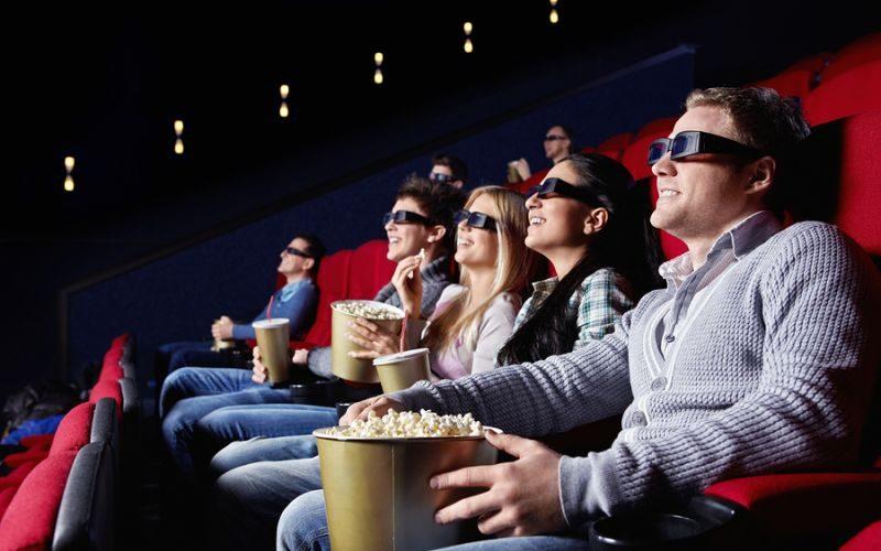 3D glass cinema