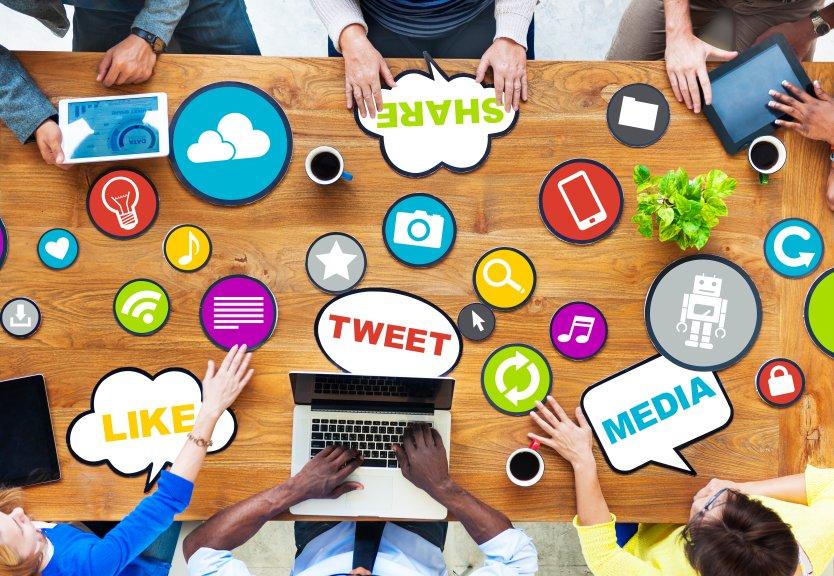 internet social media chat