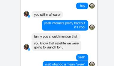 awee Conversation Between Elon Musk And Mark Zuckerberg About A Rocket