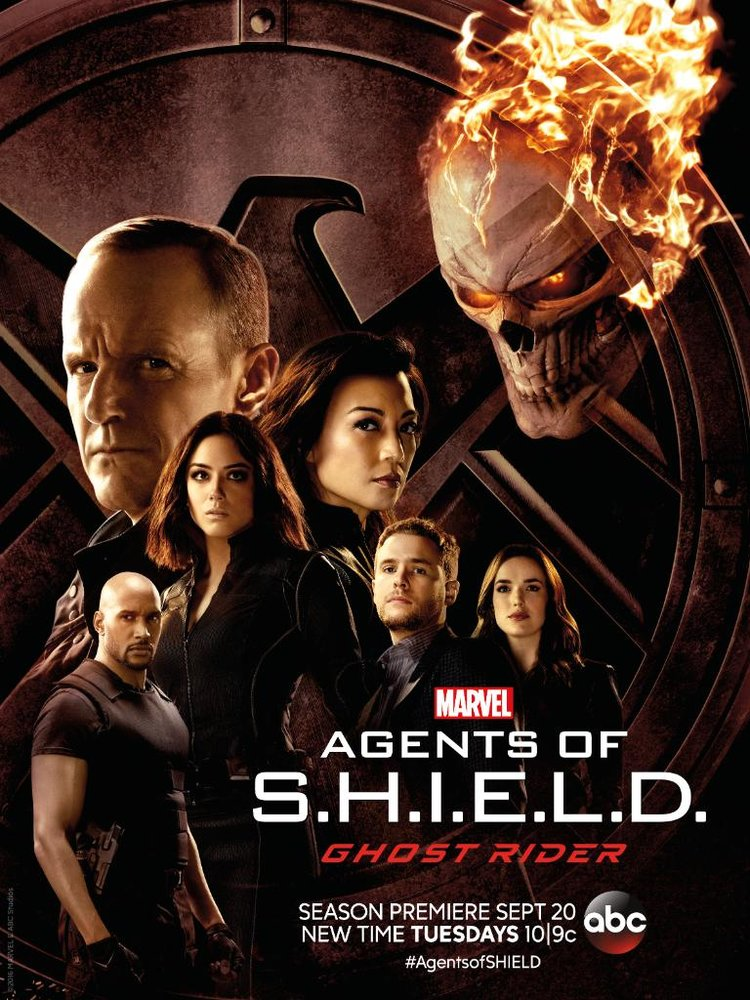 Season four of Agents of S.H.I.E.L.D. premieres on Sept. 20 at 10 p.m. on ABC. Find the full poster below.
