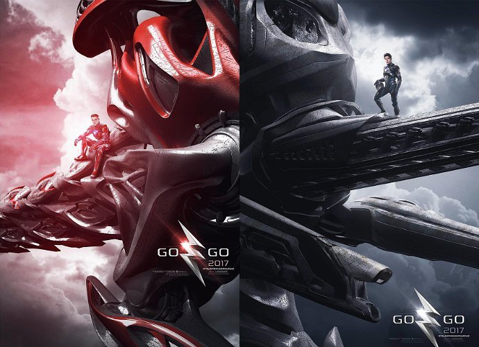 Power Rangers Movie : Posters Presents First Look At Dinozords