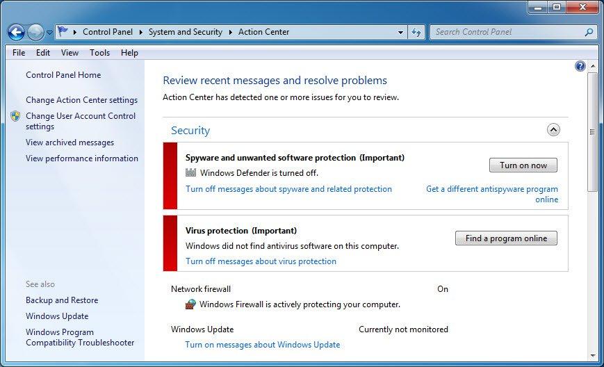 antivirus gone