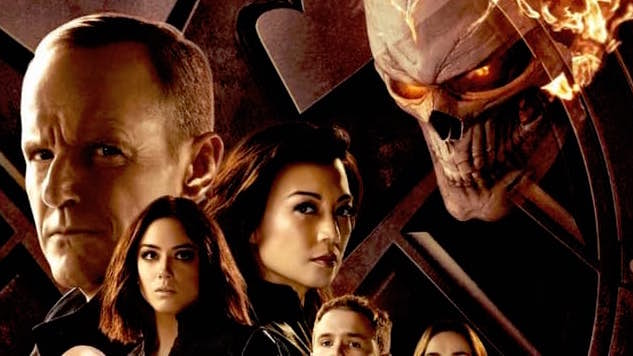 Ghost Rider Flames on in New Agents Of S.H.I.E.L.D. Poster & Trailer