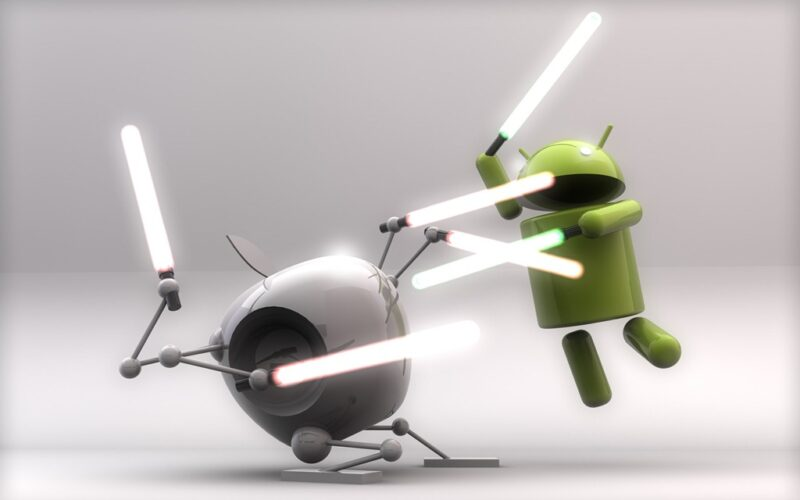 android-vs-apple iphone