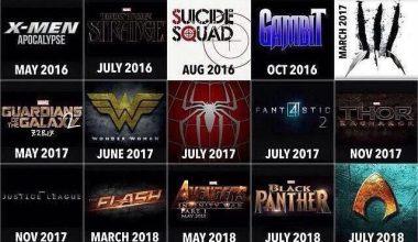 comicbookmovies 10 Most Anticipated Comic Book Movie (2016 - 2020)