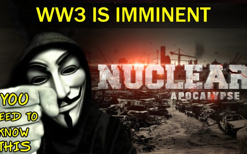 """Hacktivist Group Anonymous Warns: """"World War 3 Is Coming"""""""
