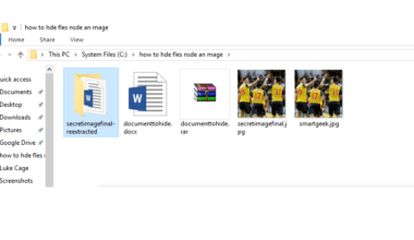 s How To Hide Files Inside An Image Without Any Application