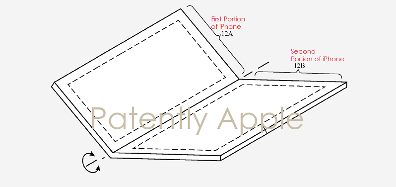 New Apple Patent Hints at Foldable IPhone 8 with Flexible Display