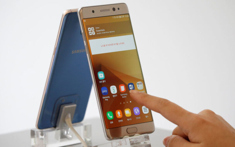 "Note 7 Samsung to push updates that ""kills off"" the exploding Note 7"
