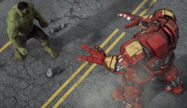 Hulk Iron-Man