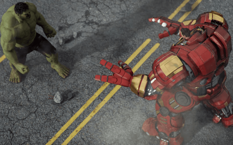Hulk Iron-Man