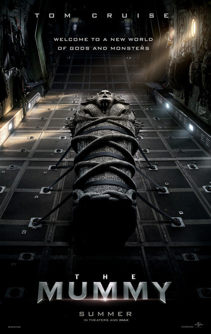 Tom Cruise's THE MUMMY Gets First Poster and Trailer