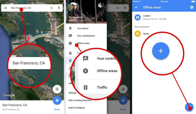 google maps offline howto 1 Top 7 Hidden Features Of Android OS You Need to Know