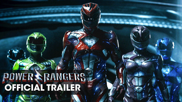 Power rangers trailer new full 2017