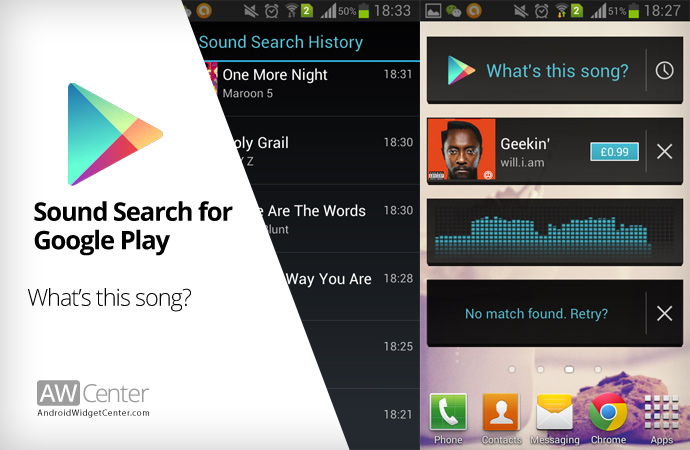 Recognize Music on Android 6 Superb Apps Developed by Google You Don't Know.