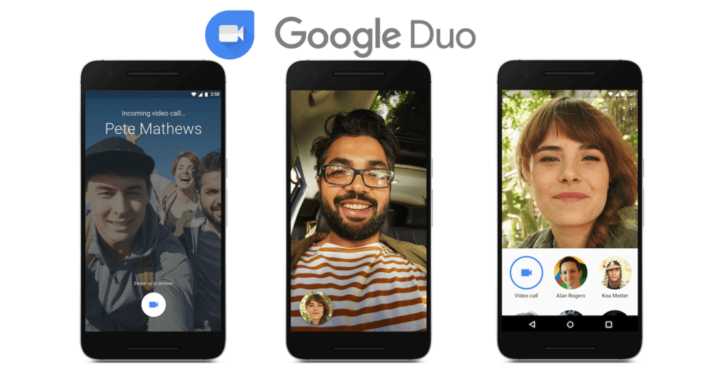 google duo1 6 Superb Apps Developed by Google You Don't Know.