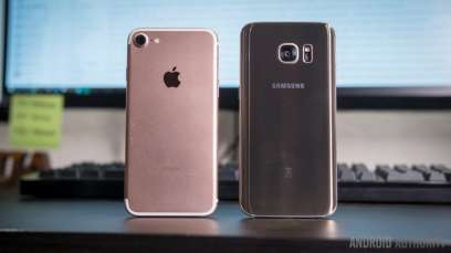 Samsung galaxy S7 vs iphone 7