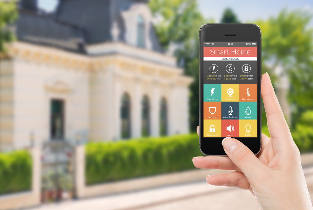 Internet of things (IoT) smarthomes