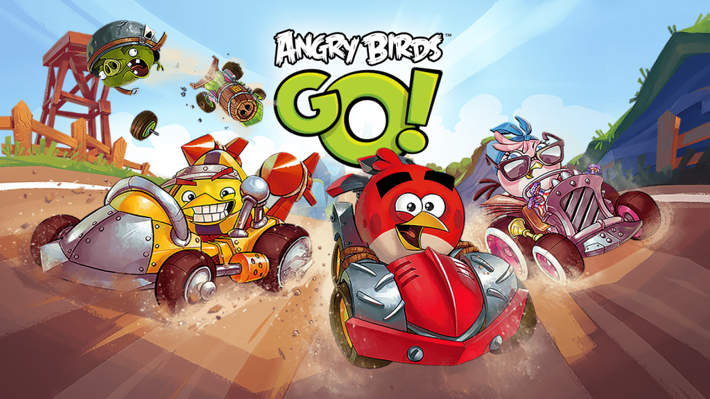 Angry Birds Go game 5 Best FREE Car-Racing Games on Android in 2017