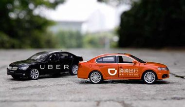 Uber Didi cars Didi Chuxing, the world's largest ride-sharing service, took on Uber and won!