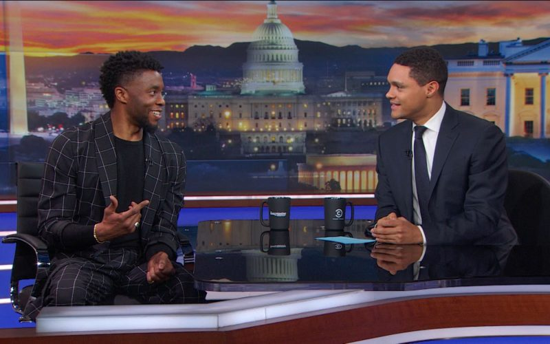 ds 23 066 exclusive intv Chadwick Boseman and Trevor Noah Discuss Accents in BLACK PANTHER