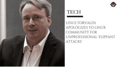 travel 1 Linus Torvalds apologies for 'arrogant' behavior over the years.