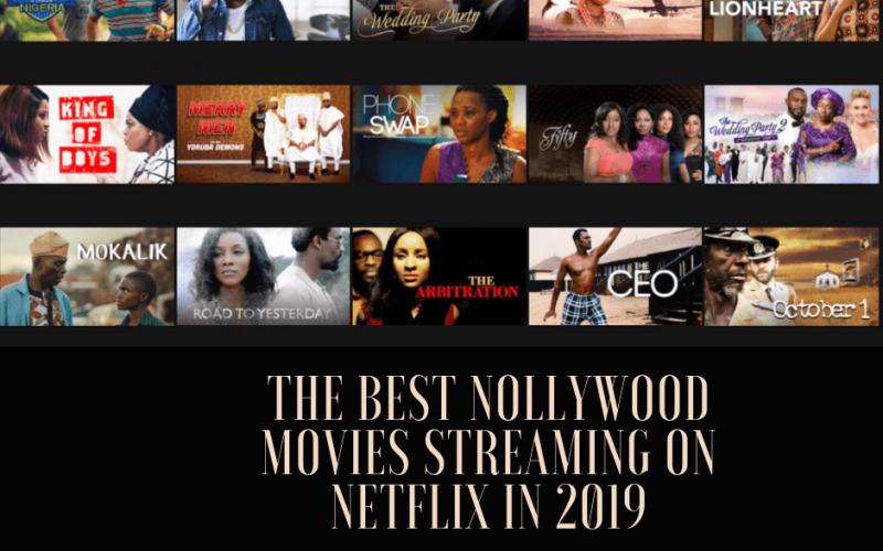 Nollywood movies on Netflix October 2019