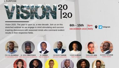 IIC vision 2020 IIC Networks Set to Host Free Webinar for Young Nigerians