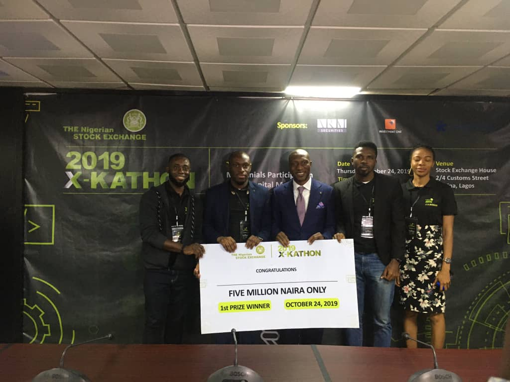 requid and organizers with prize reQuid Technologies Emerges Runner up at the Zenith Tech Hackathon, Bags 2nd Award in Less Than One Month
