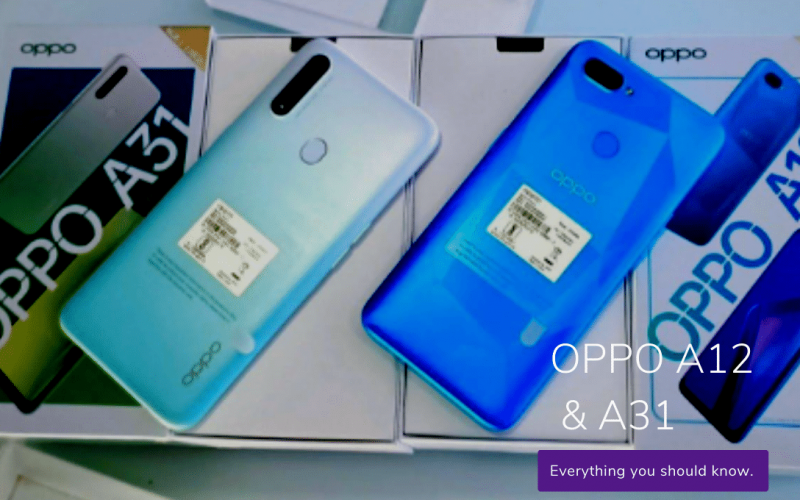 OPPO A12 A31 1 OPPO A12 & A31 Budget Smartphones with Big Battery, RAM/ROM and Powerful Camera