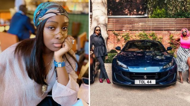TOLANI WITH DJ CUPPY AND THE FERRARIS