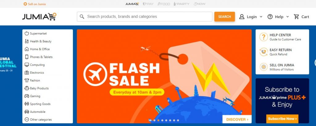 Jumia Top 10 Most Visited Websites In Nigeria 2021