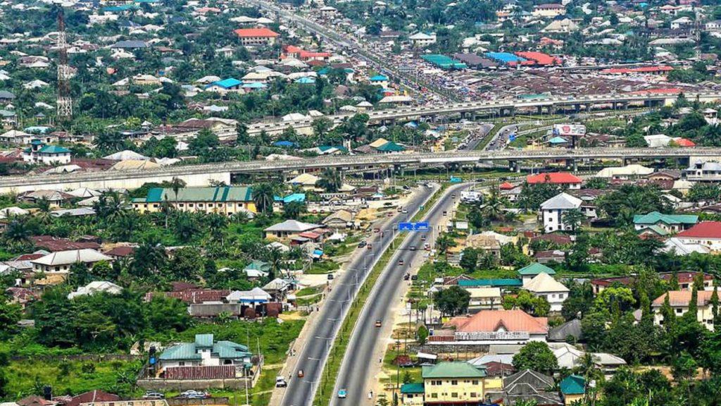 Uyo skyline e1551916201188 9 Most Beautiful Cities in Nigeria.