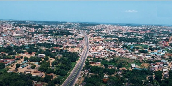 abeokuta aerial photos autojosh 5 9 Most Beautiful Cities in Nigeria.