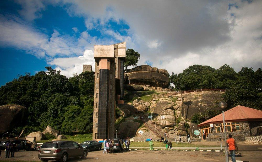 olumo rock abeokuta 9 Most Beautiful Cities in Nigeria.
